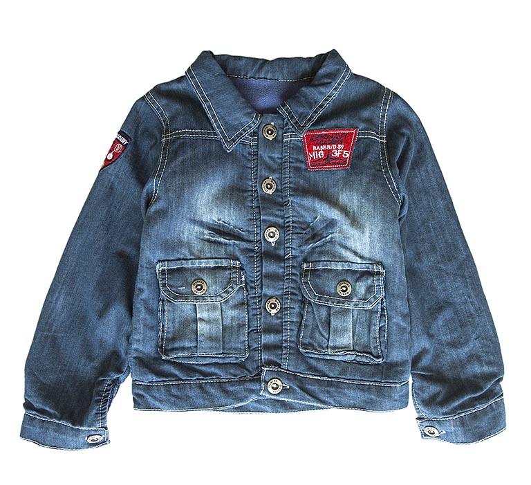 С 446 Куртка джинс 2421