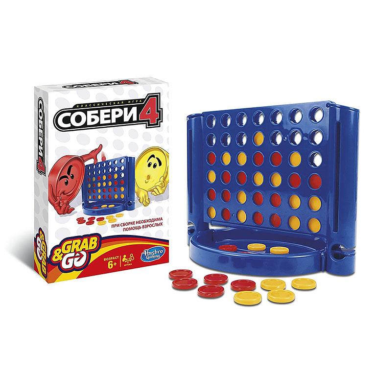 1000121 OTHER GAMES Игра дорожная СОБЕРИ 4