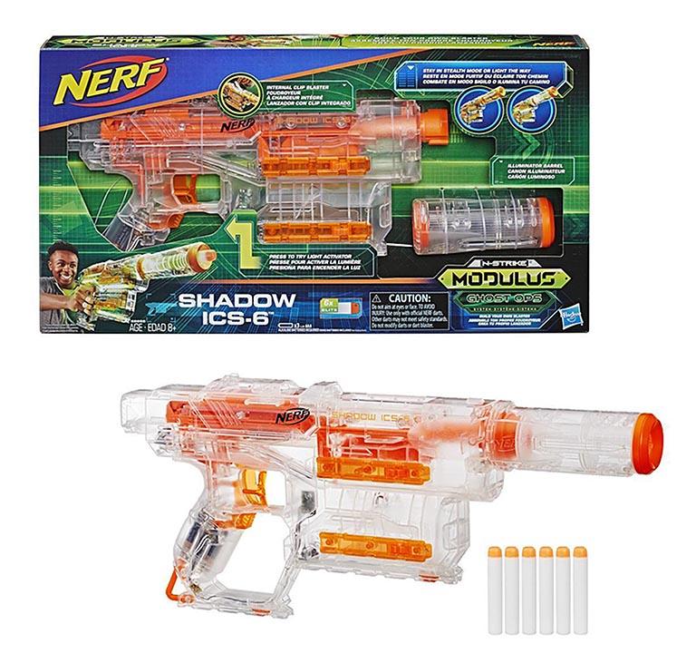 2655E Игровой набор бластер со стрелами Модулус Шэдоу  НЁРФ
