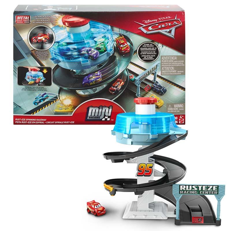 """FYN86 Cars® Игровой набор для мини машинок """"Вращающиеся гонки"""""""