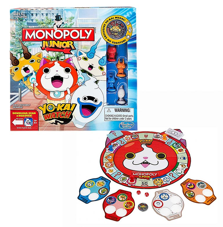 B6494121_1  МОНОПОЛИЯ YOKAI-WATCH