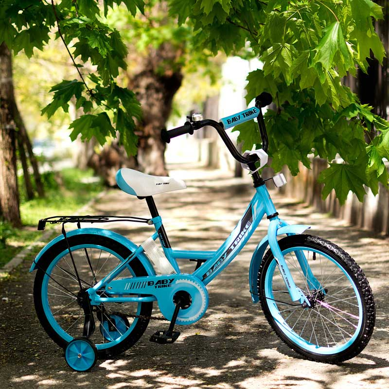 "Велосипед ""18""  2-х колес YM-CBK-458 Blue"