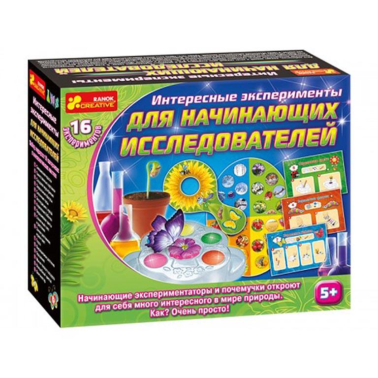 12114076Р Интересные эксперименты для начинающих исследователей