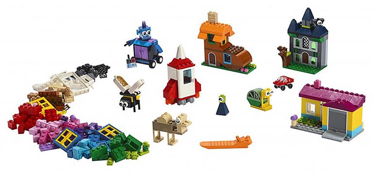 """11004 LEGO CLASSIC """"Набор для творчества с окнами"""""""