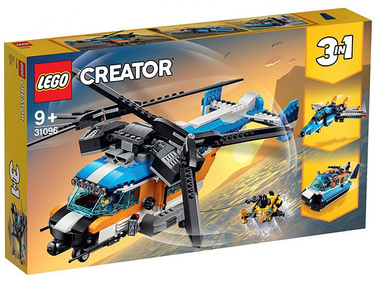 """31096 Creator """"Двухроторный вертолет"""""""