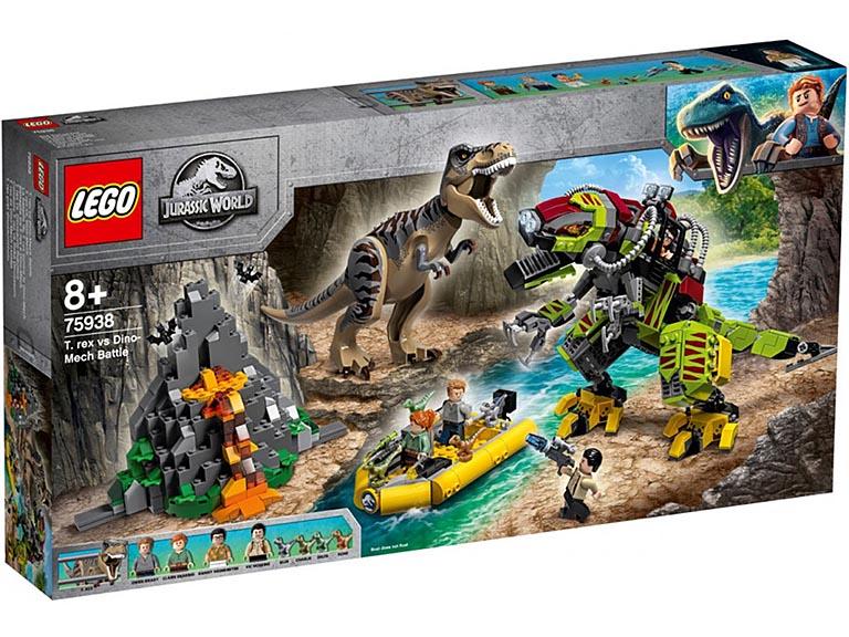 "75938 JURASSIC WORLD ""Бой тираннозавра и робота-динозавра"""