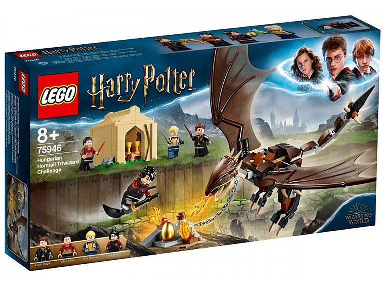 """75946 LEGO HARRY POTTER """"Турнир трех волшебников: венгерская хвосторога""""!"""""""