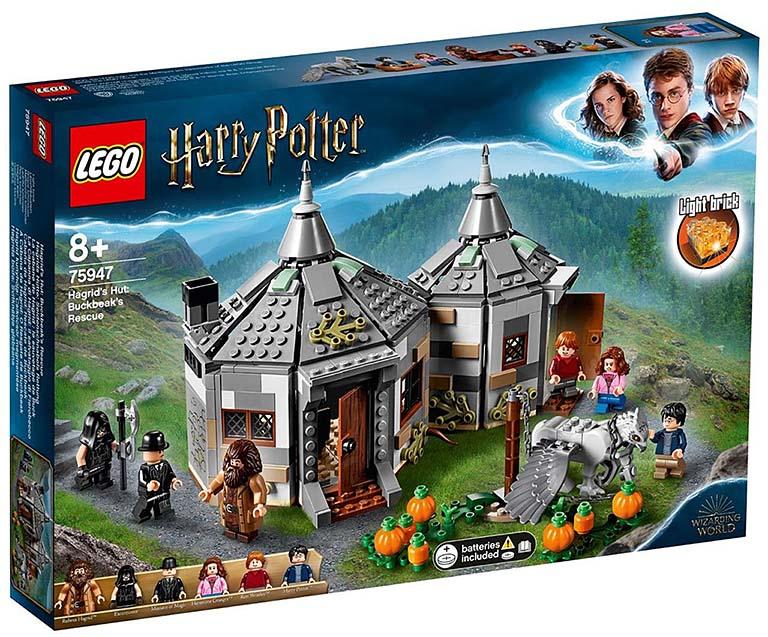 """75947 LEGO HARRY POTTER """"Хижина Хагрида: спасение"""""""