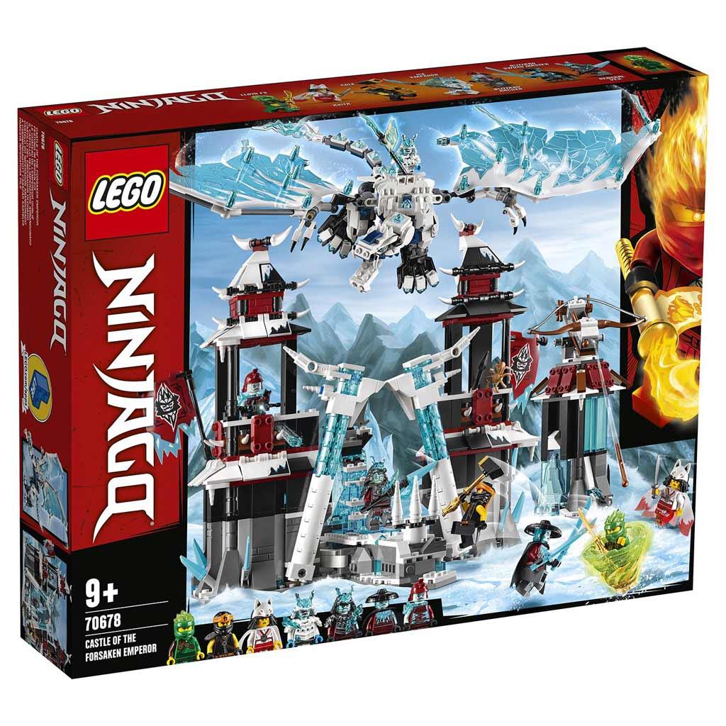 """70678 Конструктор LEGO Ninjago """"Замок проклятого императора"""""""
