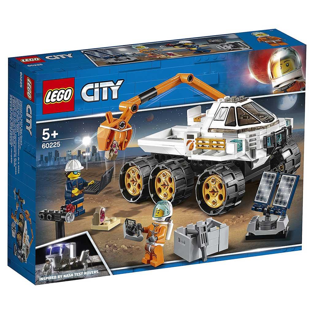 "60225 CITY ""Тест-драйв вездехода"""