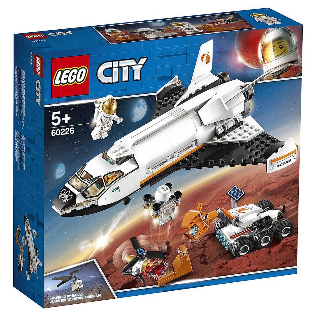 """60226 CITY """"Шаттл для исследований Марса"""""""