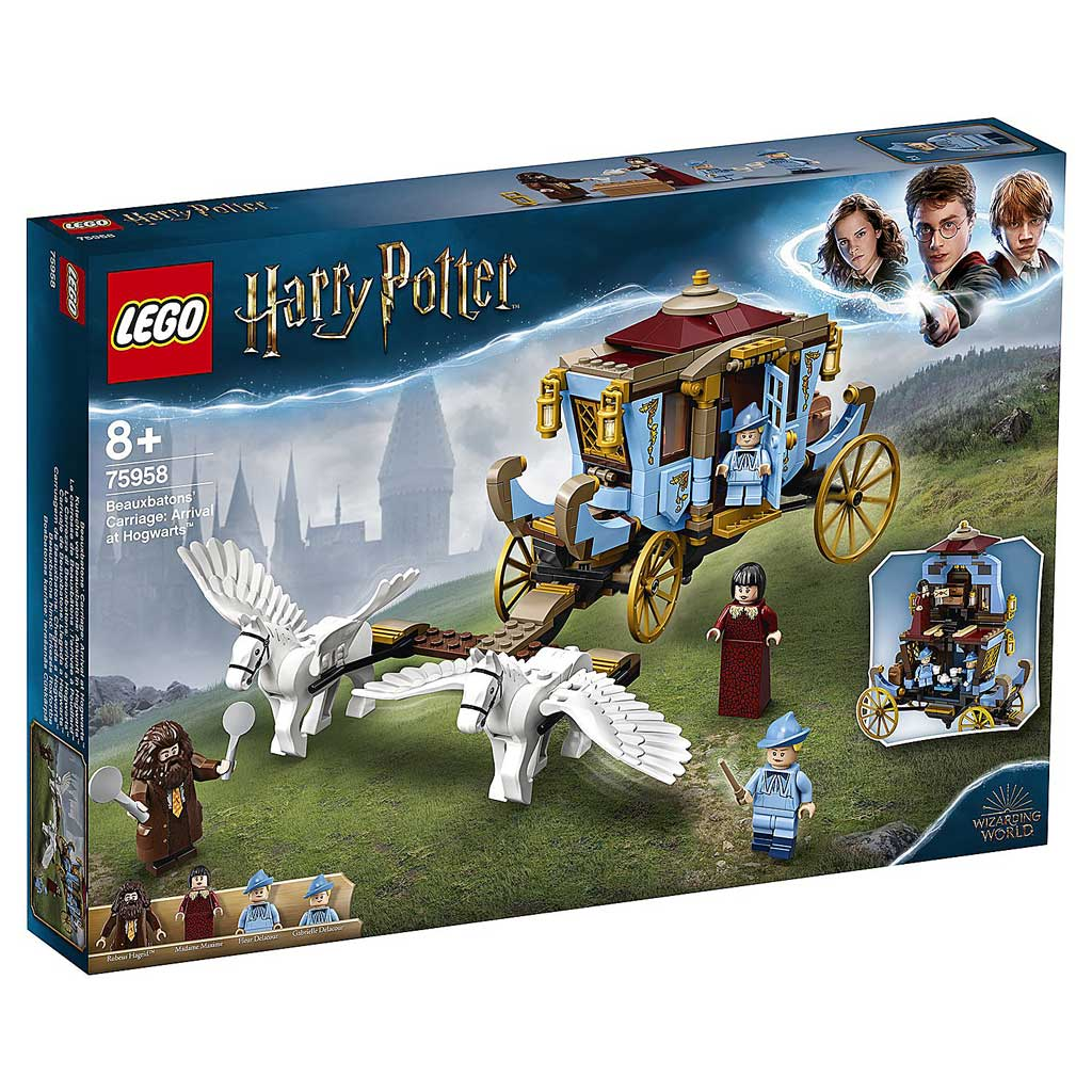"75958 LEGO HARRY POTTER ""Карета школы Шармбатон: приезд в Хогвартс"""