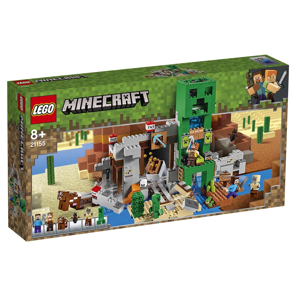 "21155 Конструктор LEGO Minecraft ""Шахта крипера"""