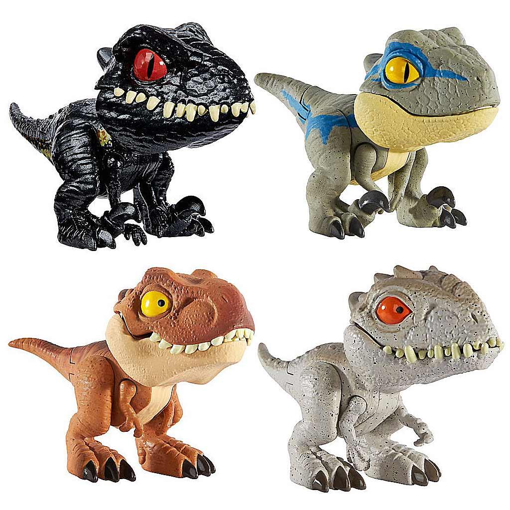GGN26 Jurassic World Цепляющиеся мини-динозаврики в ассортименте