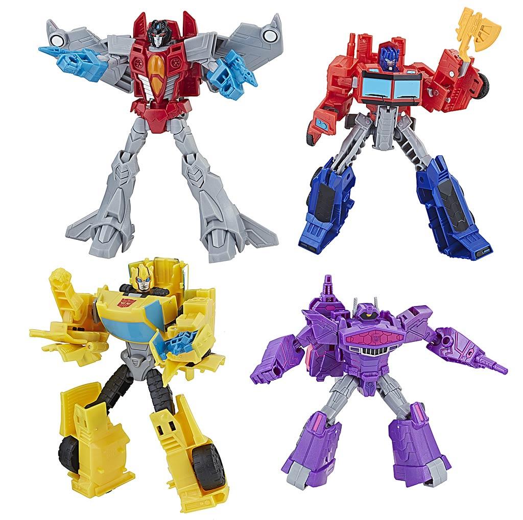 E1884 Hasbro Transformers ТРАНСФОРМЕР КИБЕРВСЕЛЕННАЯ 14 см