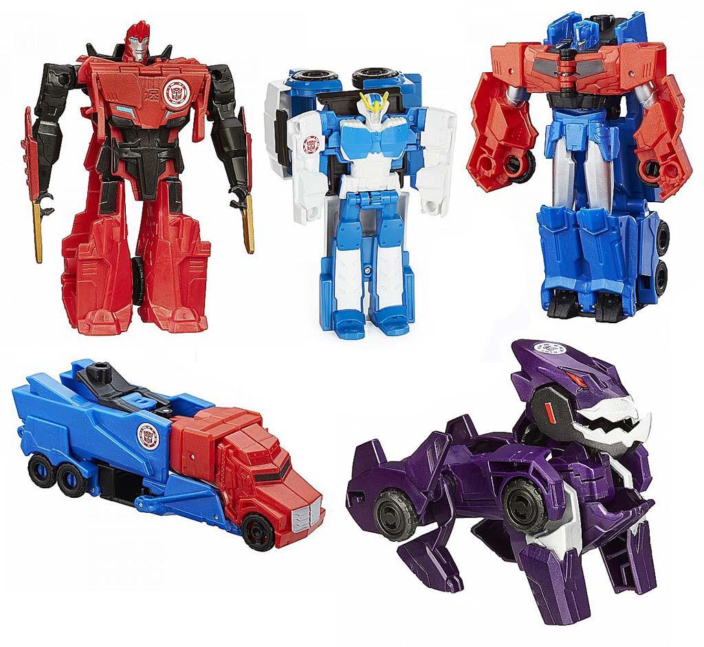 0068В Hasbro Transformers ТРАНСФОРМЕР РОБОТ ПОД ПРИКРЫТИЕМ: One-Step