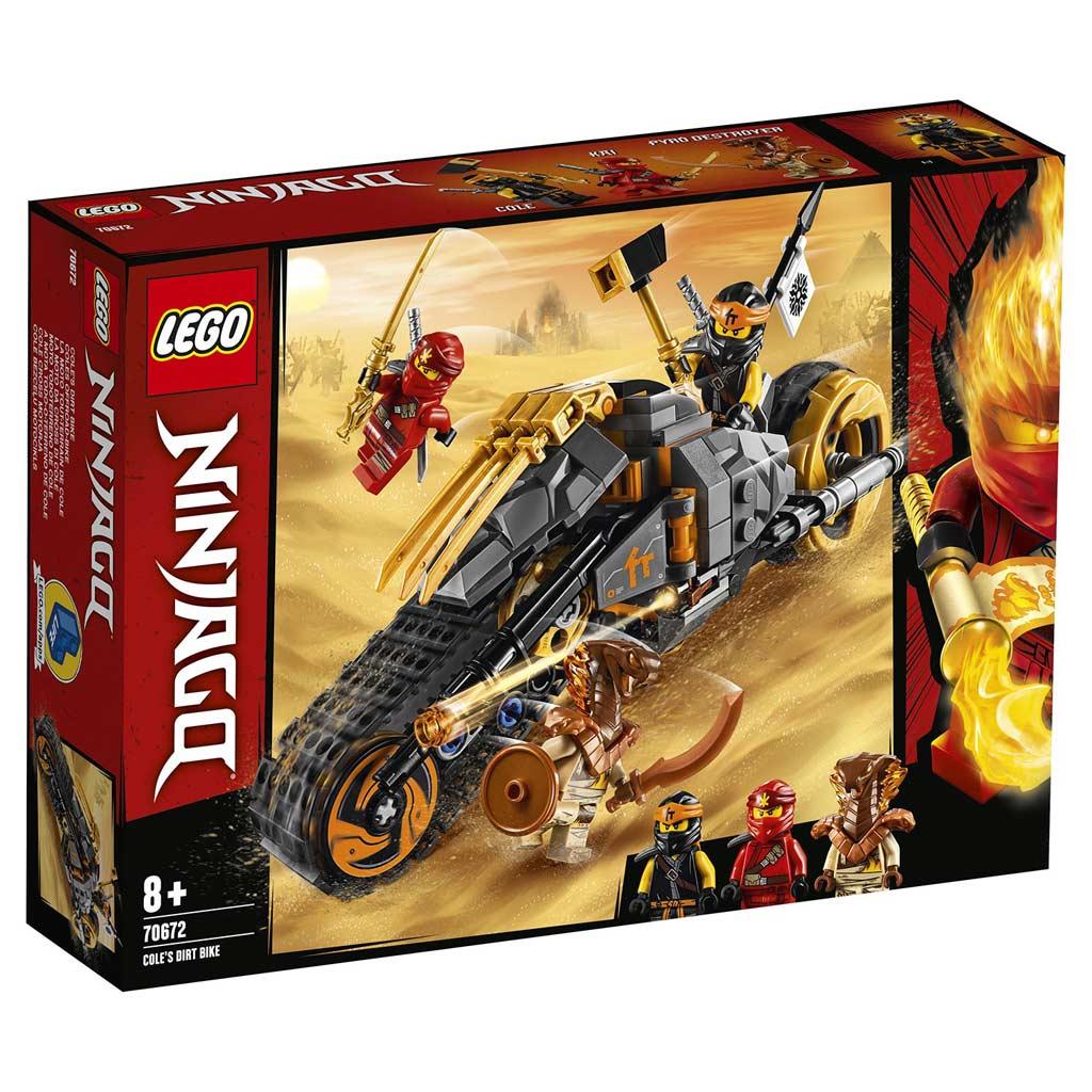"70672 LEGO Ninjago ""Раллийный мотоцикл Коула"""