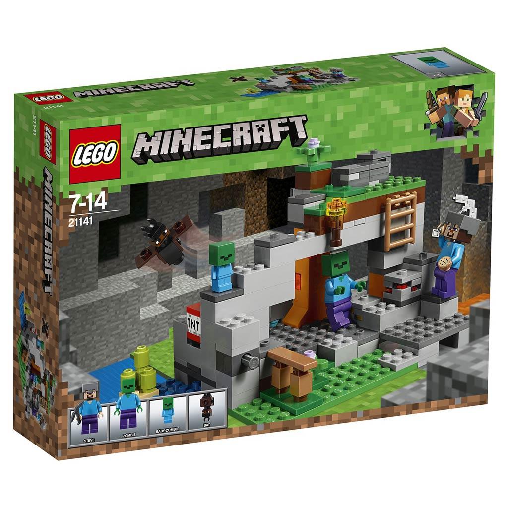 "21141 LEGO Minecraft ""Пещера зомби"""