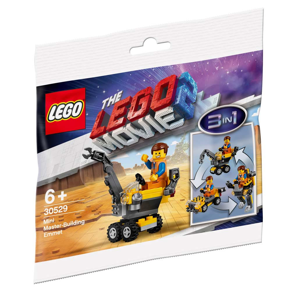 "30529 LEGO MOVIE ""Минитрансформер Эммета"""