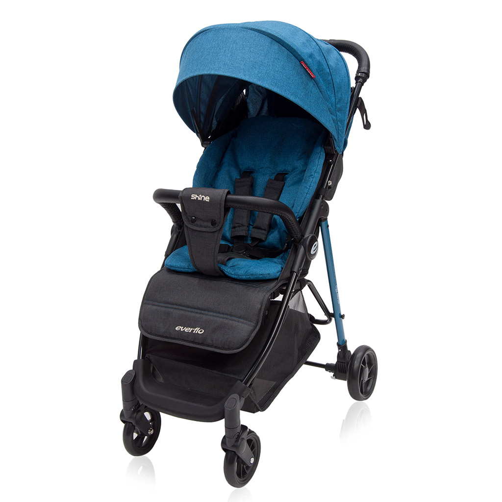 Коляска прогулочная Everflo Shine E-240 blue