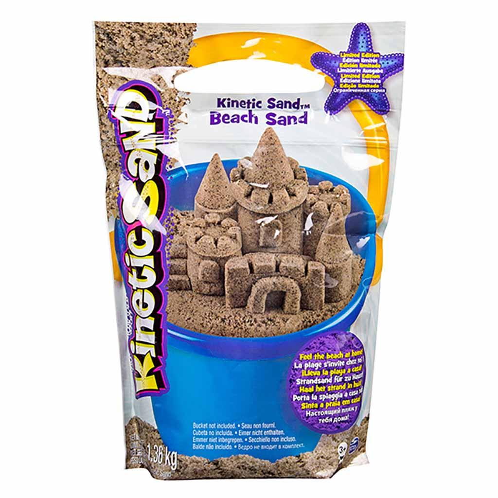 71435 Песок для лепки Kinetic Sand морской песок 1,4 кг коричневый