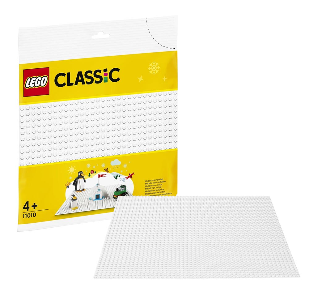 "11010_1 LEGO CLASSIC ""Белая базовая пластина"""