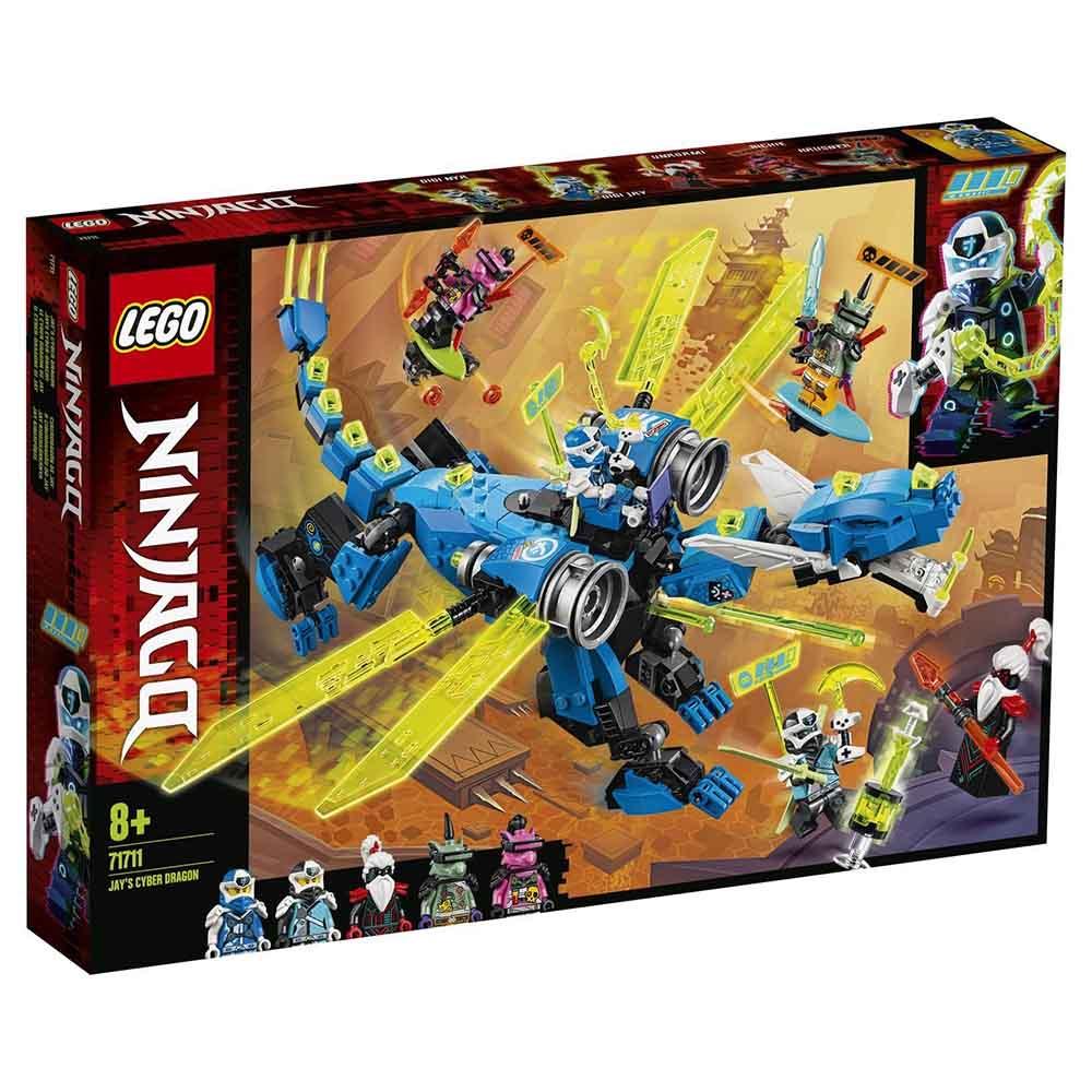 "71711 LEGO Ninjago ""Кибердракон Джея"""
