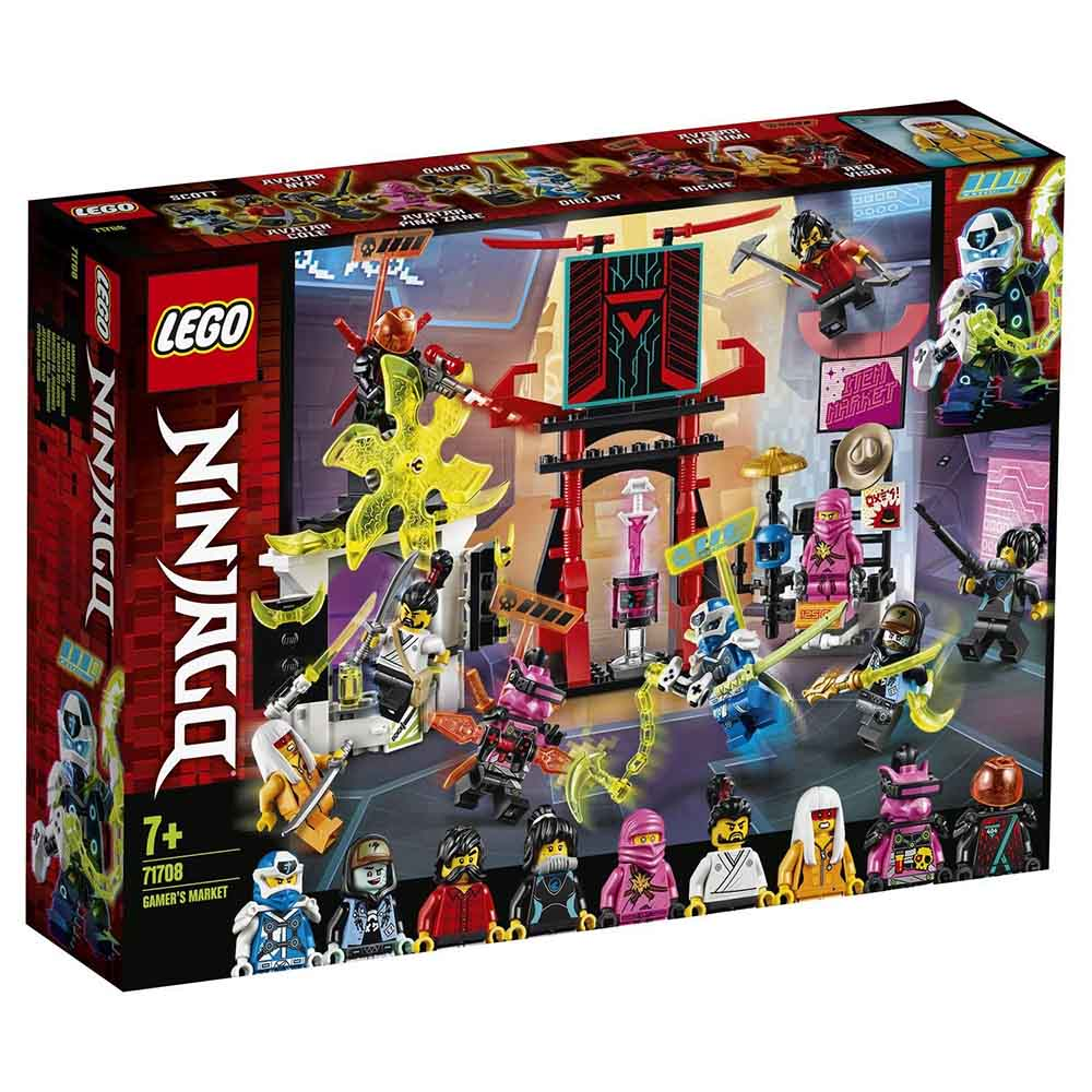 "71708 LEGO Ninjago ""Киберрынок"""