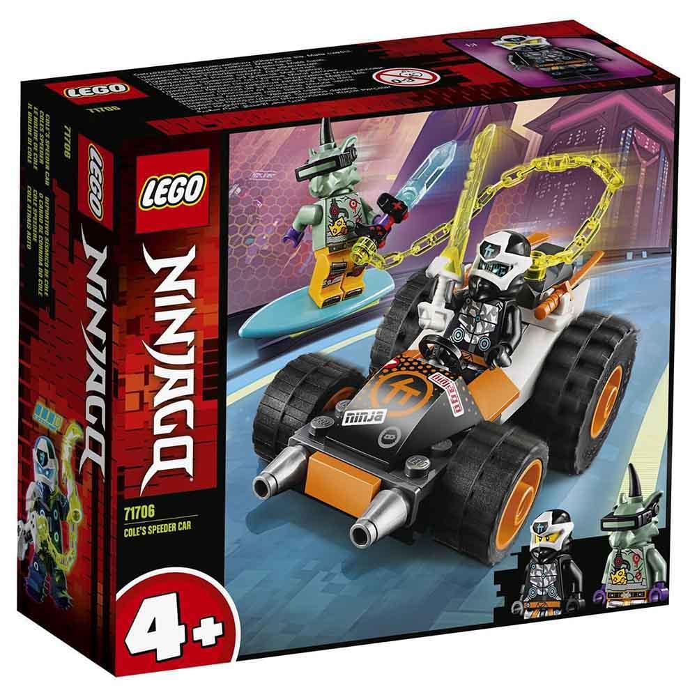 """71706 LEGO Ninjago """"Скоростной автомобиль Коула"""""""