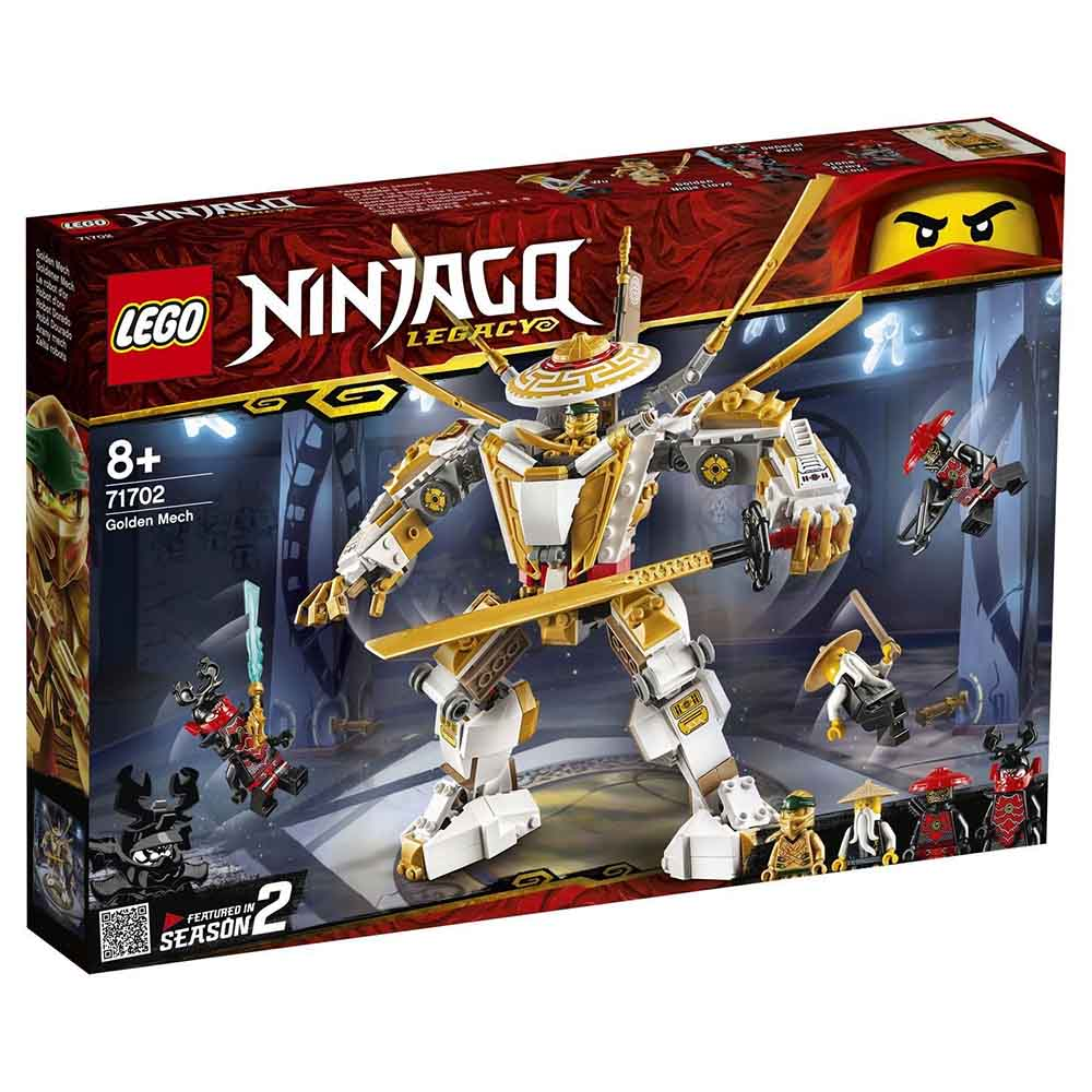 """71702 LEGO Ninjago """"Золотой робот"""""""