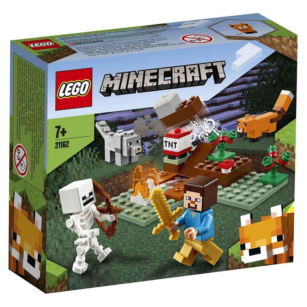 """21162 LEGO Minecraft """"Приключения в тайге"""""""