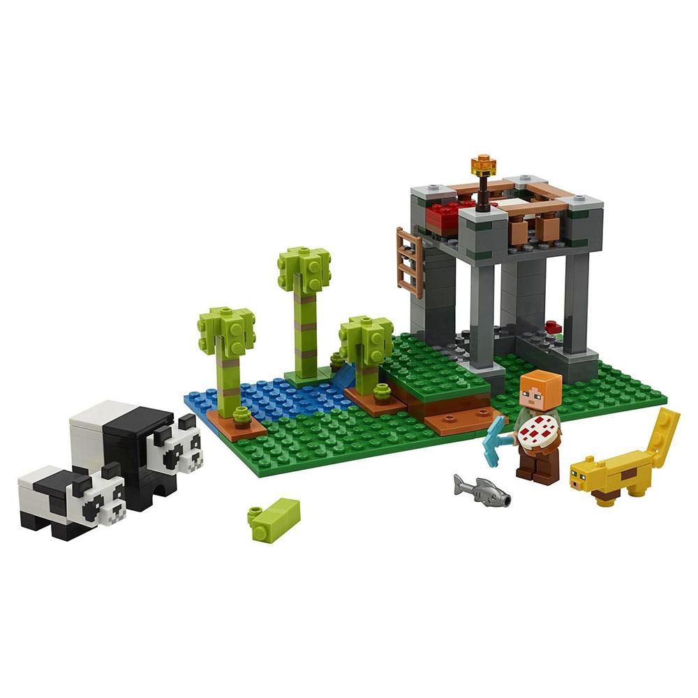 "21158 LEGO Minecraft ""Питомник панд"""