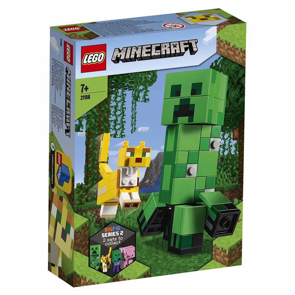 "21156 LEGO Minecraft ""Большие фигурки Minecraft: Крипер и Оцелот"""