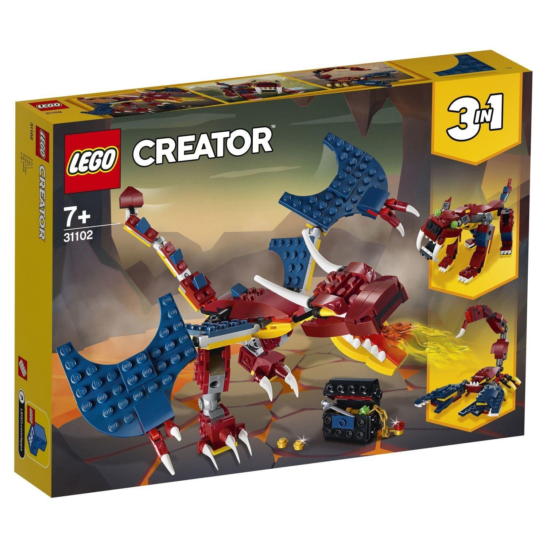 "31102 CREATOR ""Огненный дракон"""