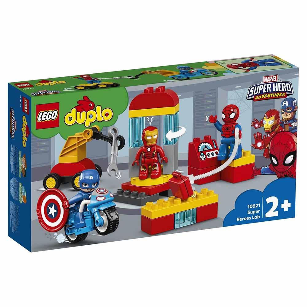 "10921 DUPLO Super Heroes ""Лаборатория супергероев"""