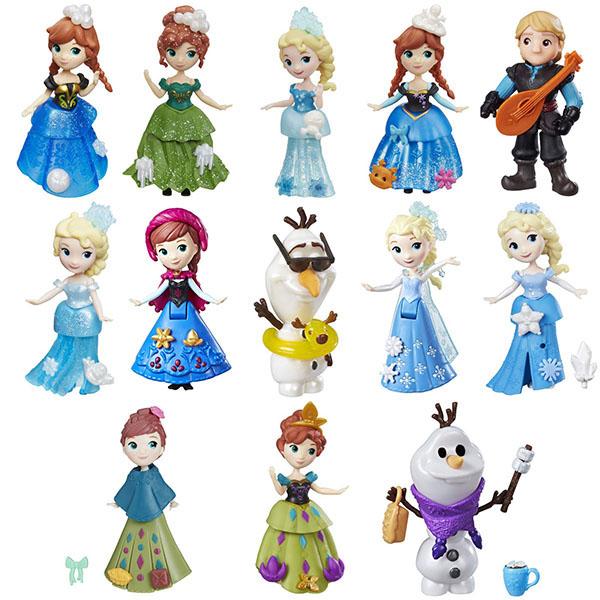 C1096 Игрушка Hasbro Disney Princess маленькие куклы Холодное сердце в ас-те