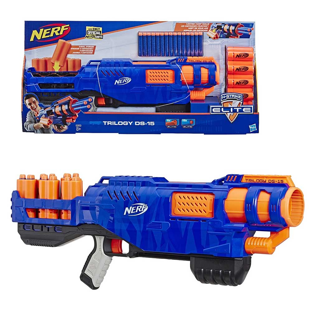 E2853 Игр.набор Hasbro Nerf бластер Элит Трилоджи ДС-15
