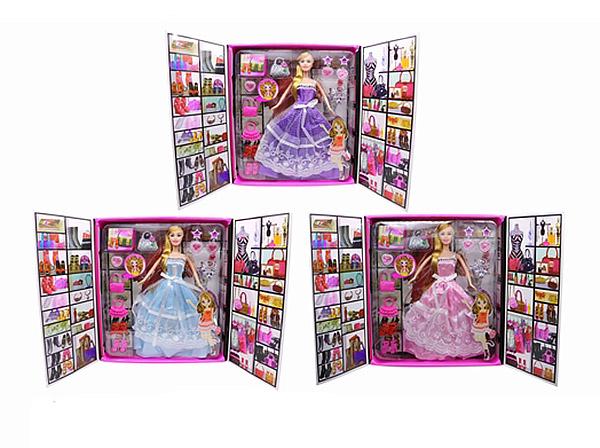 Кукла WX15-7 с аксессуарами, в коробке 28*31*6