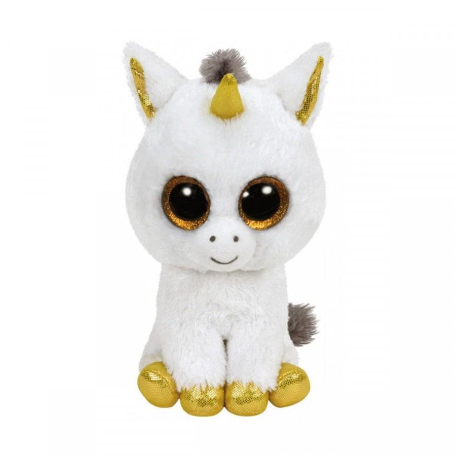 36825 Beanie Boo's PEGASUS - белый единорог 25 см