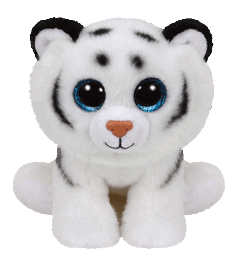 42106 BB TUNDRA - белая тигровая, 15 см