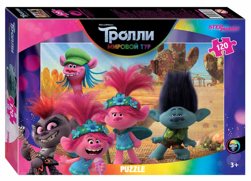 """75167 Мозаика """"puzzle"""" 120 """"Trolls-2"""""""