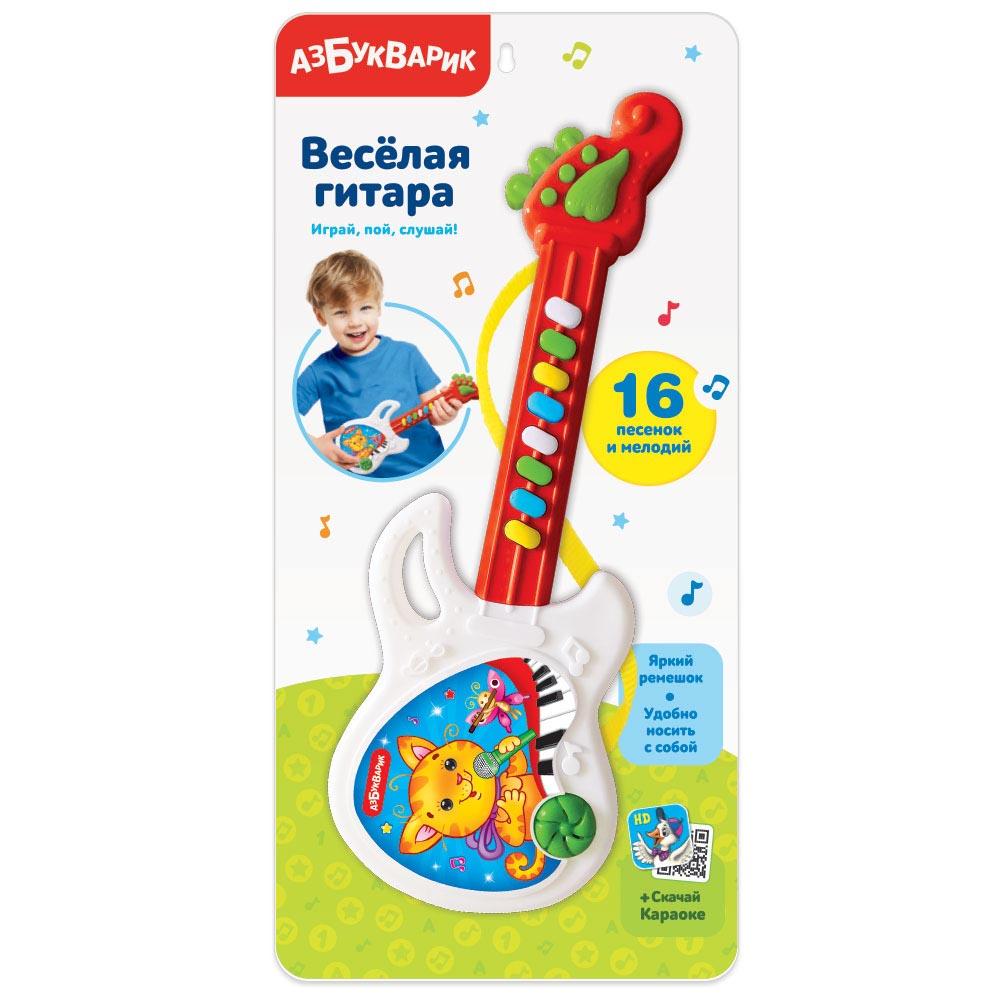 4224 Веселая гитара Красная 2576В