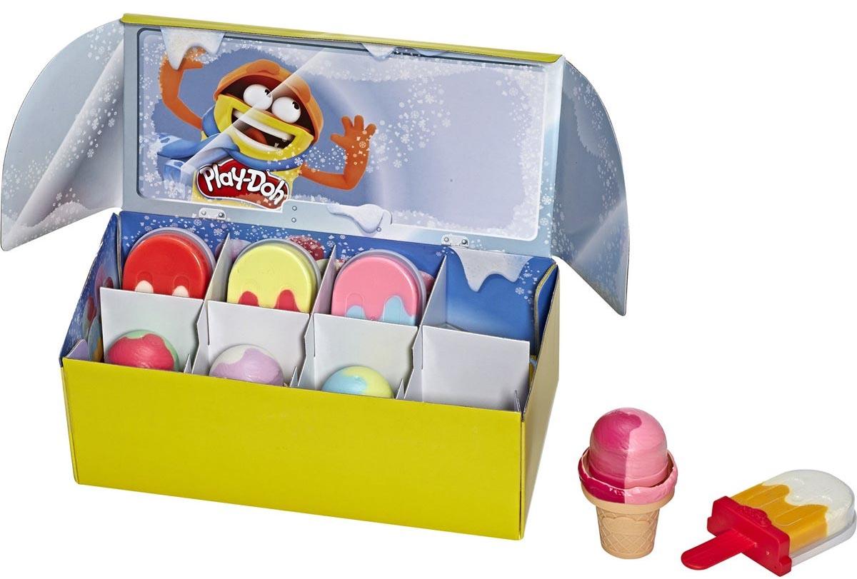"""E6035F02 PLAY-DOH Игровой набор """"Масса для лепки Мороженое"""" поштучно"""