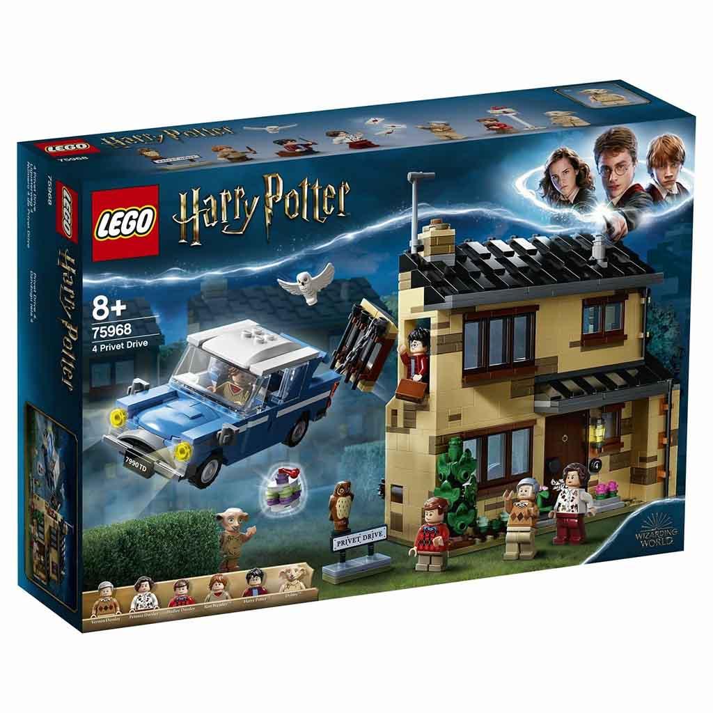"""75968 LEGO HARRY POTTER """"Тисовая улица, дом 4"""""""