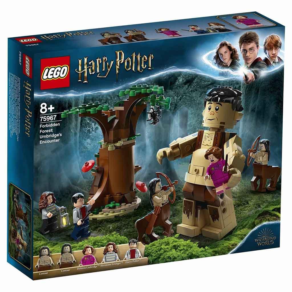 """75967 LEGO HARRY POTTER """"Запретный лес: Грохх и Долорес Амбридж"""""""