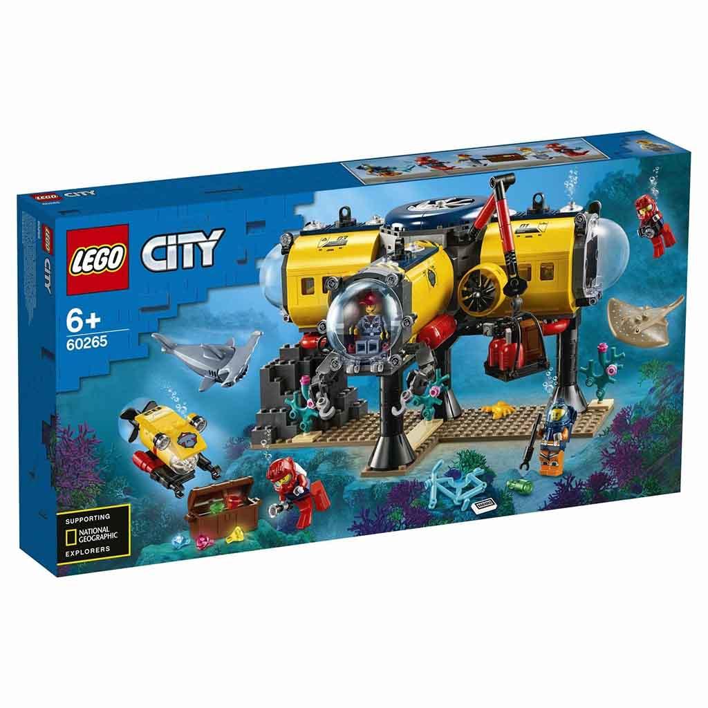 """60265 CITY """"Океан: исследовательская база"""""""
