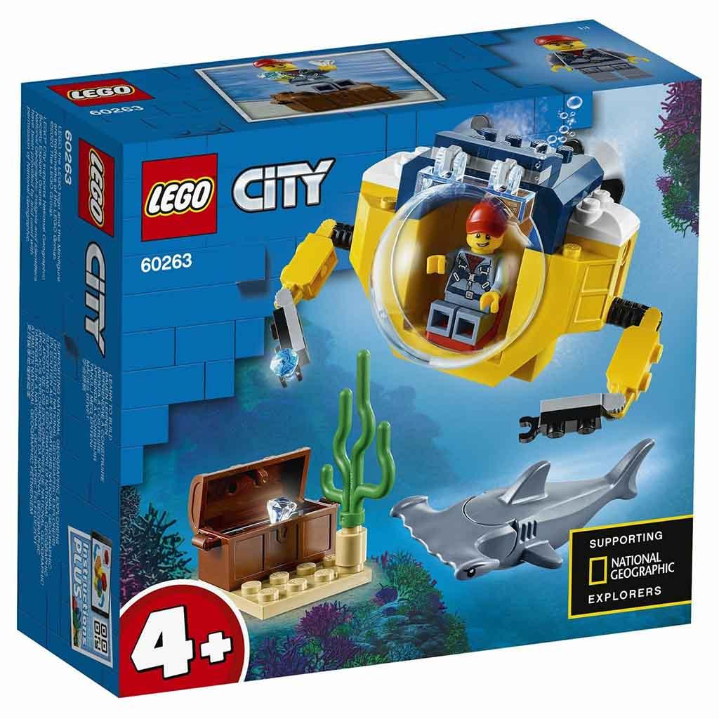 """60263 CITY """"Океан: мини-подлодка"""""""