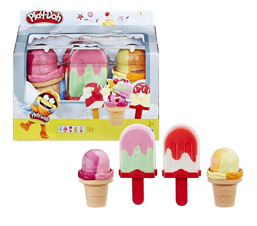 E6642EU4 Игр. набор PLAY-DOH холод-к с мороженым