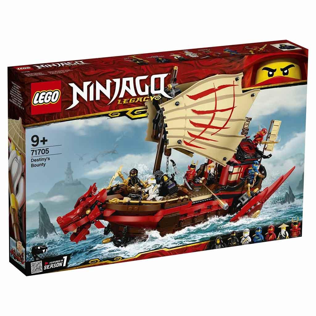 "71705 Ninjago ""Летающий корабль Мастера Ву"""