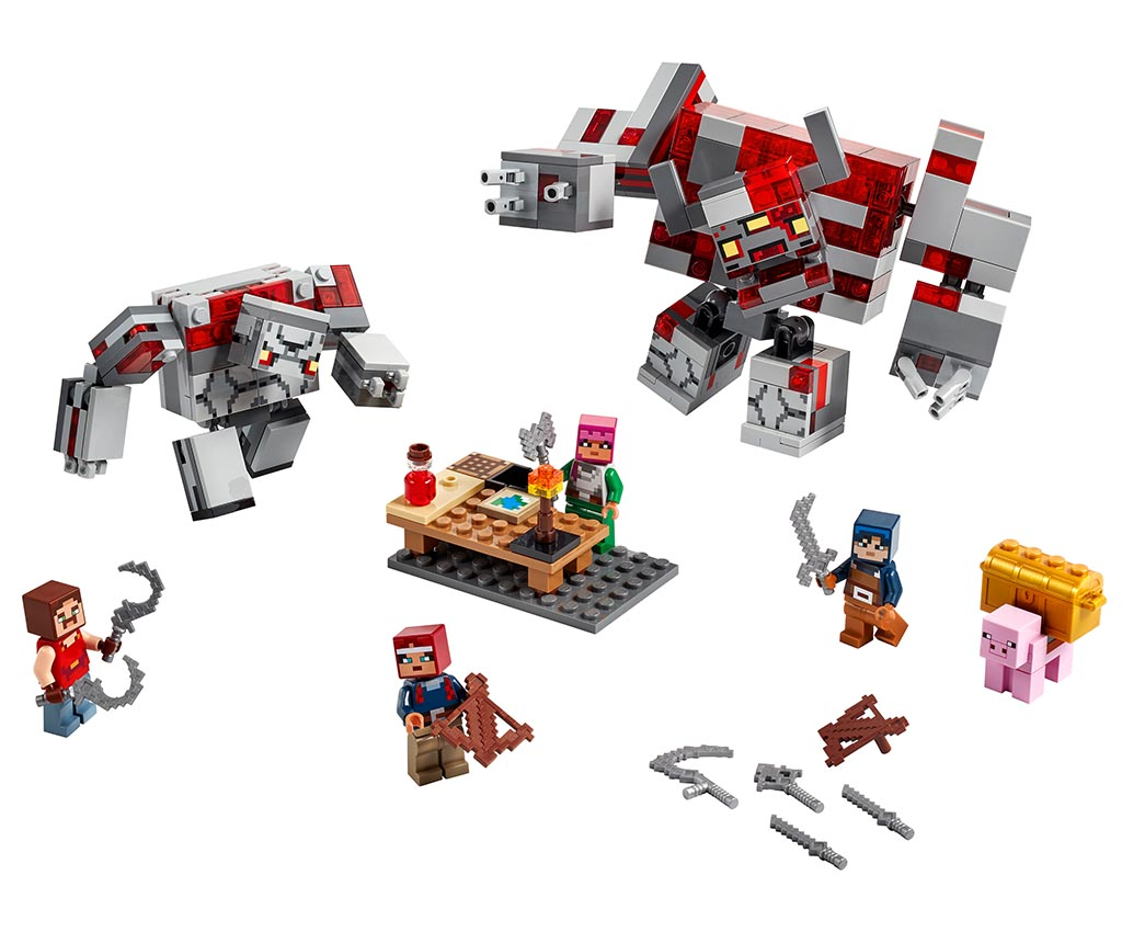 "21163 LEGO Minecraft ""Битва за красную пыль"""